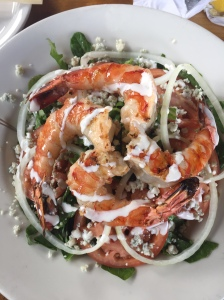 buzz's scampi salad
